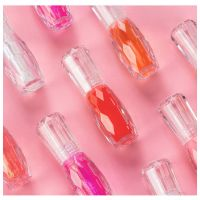 Wholesale HANDAIYAN Brand Real Effect Colors Plumping Lip Gloss Transparent Glass Glossy Plump Oil Moisturized Private Label