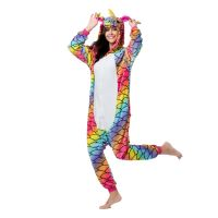 wholesale adult pajamas sexy adult onesie custom fish scale unicorn kigurumi flannel women pajamas kigurumi onesie pajamas