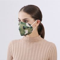 Anti-fog Print Spunlace Fashion Face Mask with Design