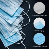 Disposable 3-Ply Surgical/Medical Mask Breathable with Earloops Protective Face Mask