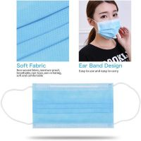 Custom 3 Ply Dental Medical Non-woven Disposable Face Mask