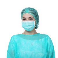 Consumable Disposable 3 Ply Anti-pollution Non-woven Safety Surgical Face Mask