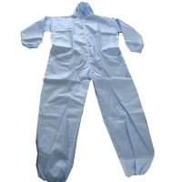 Protective Disposable Non-Woven type 5/6 Cleanroom Suit Clothing