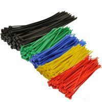 Ultraviolet Colours Self-Locking Nylon Plastic Cable Wire Zip Tie Cable strap