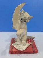 Polyresin Cat Miniature Figurine
