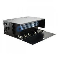 288 Ports Loaded LC FAPs 4RU Rack Mount Fiber Enclosure Panduit FRME4 Compatible
