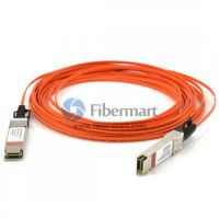20M(65.6ft) 40GBASE QSFP+ to QSFP+ Active Optical Cable