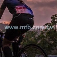 Smart safety warning rear tail light bike tail-lamp