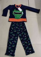 100% polyester coral fleece boy sleepwear Dragon design pajama