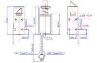 DC 12V locker lock