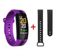 QS01 Color screen smart bracelet heart rate blood pressure walking riding and other sports mode Color screen smart bracelet