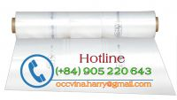 Corona treatment Overspray Plastic Sheeting
