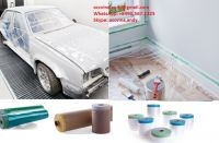 Pretaped Masking Film for auto refinishing & house painting