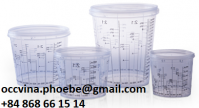 High Quality PP Calibrated Paint Mixing Cup