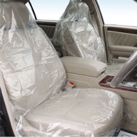 Plastic Car Seat Cover (Clean Kit 5 in 1)