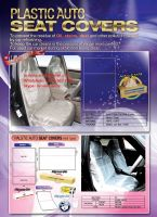 Disposable clear plastic car seat covers,cover for car seat