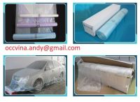 Coreless auto paint masking film/Painters plastic masking film for car painting protection