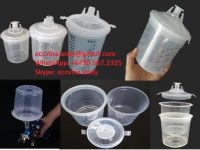 Spray Mixing Cup/Auto system Cup Lid and Liner paint mixing cup