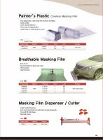 Automotive Spray Sheeting