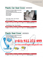 Plastic Car Seat Cover