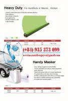HDPE Paint Masking Film