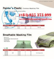HDPE Masking Film for Automotive Painting