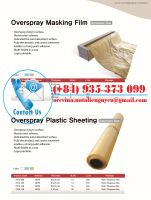 HDPE Overspray Plastic Sheeting
