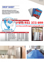 Drop Sheet Painters Dust Sheet Protector