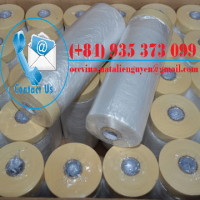 HDPE Masking Film with Premium Paper Tape