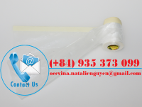 Indoor Used Pretaped Masking Film