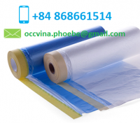 UV Resistant Cloth Taped Masking Film