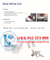 Spray Cup for Painting Industry
