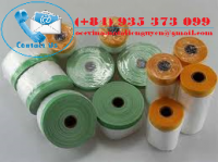 Pre-taped Masking Film with Premium Cloth Tapes
