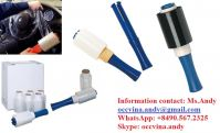 Disposable Auto Hand stretch wrap stretch film with handle