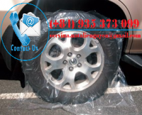 Disposable Plastic Wheel Cover