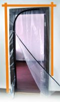 Plastic Protective Zipper Door