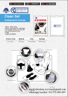 Clean kit 5in1
