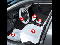Disposable Protective Clean Kit 5 in 1