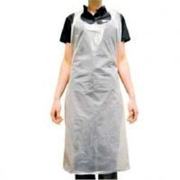 DISPOSABLE PLASTIC GOWN/APRON