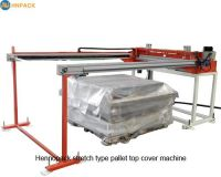 in line stretch film top sheet dispenser