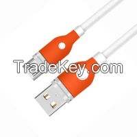 Metal Case USB 2.0 A Male to Micro USB B Male Cable with TPE Jacket