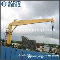 marine stiff boom crane for sale