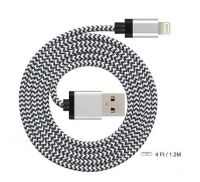 Braided USB Cable  MFi Certified for Apple