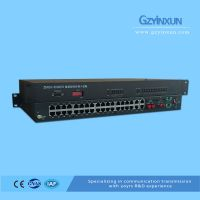 1 Fiber+1 E1 back up protection multiplexer-ZMUX-3036ES