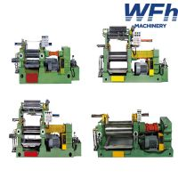 Rubber Mixing Mill with 2 motors