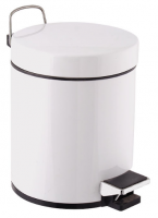 Factory supply 3.5L pedal trash can step bin