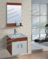 Hot selling Plywood Bathroom Cabinets with mirror