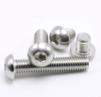 Stainless steel screw and nut