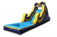2*5*2.3m Factory price mini commercial grade inflatable water park sli