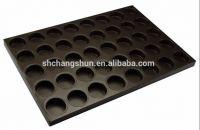 Custom Silicon Coating Non-stick Al Steel Bread Muffin Pastry Pan Factory Direct